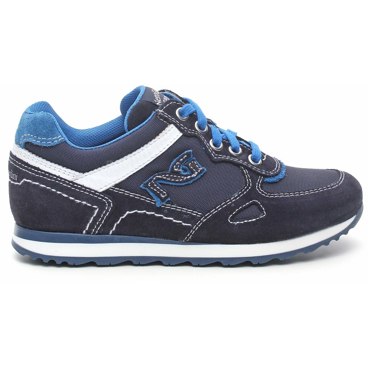 Nero giardini junior sneaker ragazzo camoscio tela - Scarpe nero giardini bambino ...