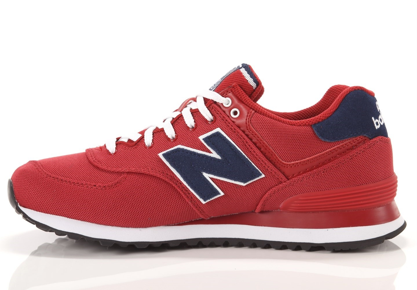 new balance ml 574 uomo rosse
