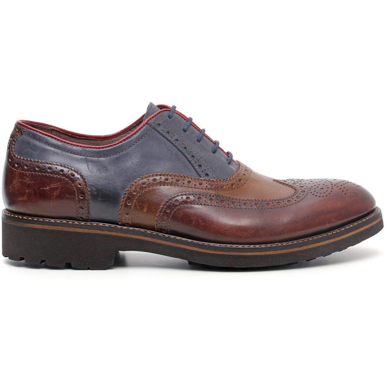 Nero giardini scarpa stringata in pelle uomo a503673u 304 latini sport - Scarpa uomo nero giardini ...