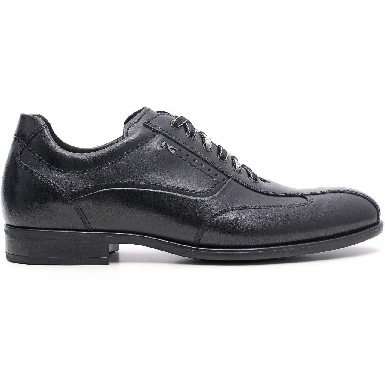 Nero giardini scarpa classica in pelle uomo a503580u 100 latini sport - Scarpa uomo nero giardini ...