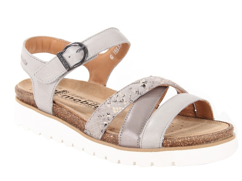 the best attitude 99601 a48a5 MOBILS by MEPHISTO THINA - SANDALO DONNA CON PLANTARE ...