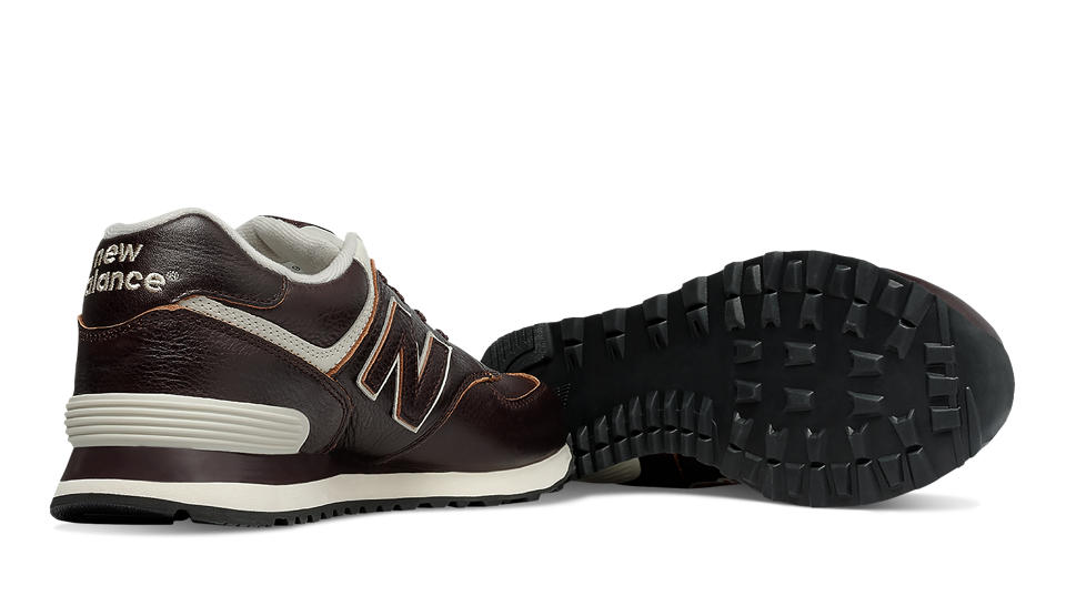 separation shoes adc01 d44a0 NEW BALANCE ML574LUA LEATHER – SNEAKER UOMO IN PELLE