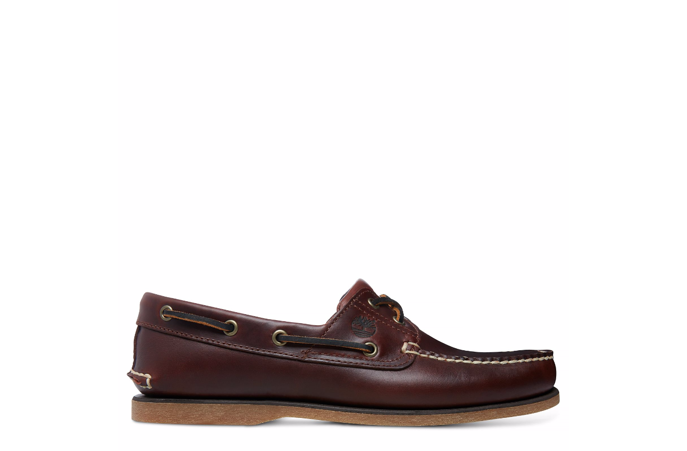 TIMBERLAND 25077 CLASSIC ICON 2-EYE BOAT ROOTBEER UOMO - MOCASSINO ... ce603104560