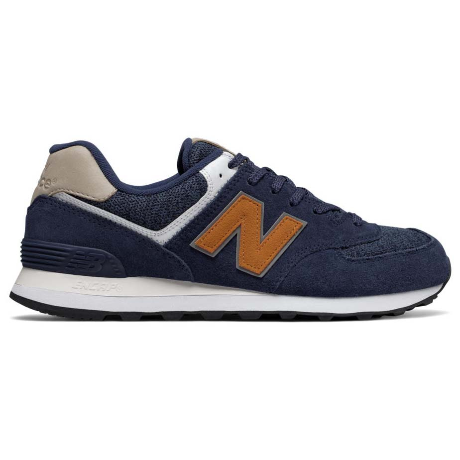 NEW BALANCE ML574VAK BLU Sneakers Uomo