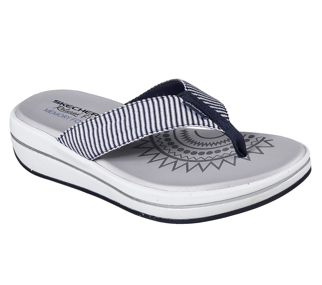 SKECHERS UPGRADES SAILIN – INFRADITO DONNA IN MEMORY FOAM