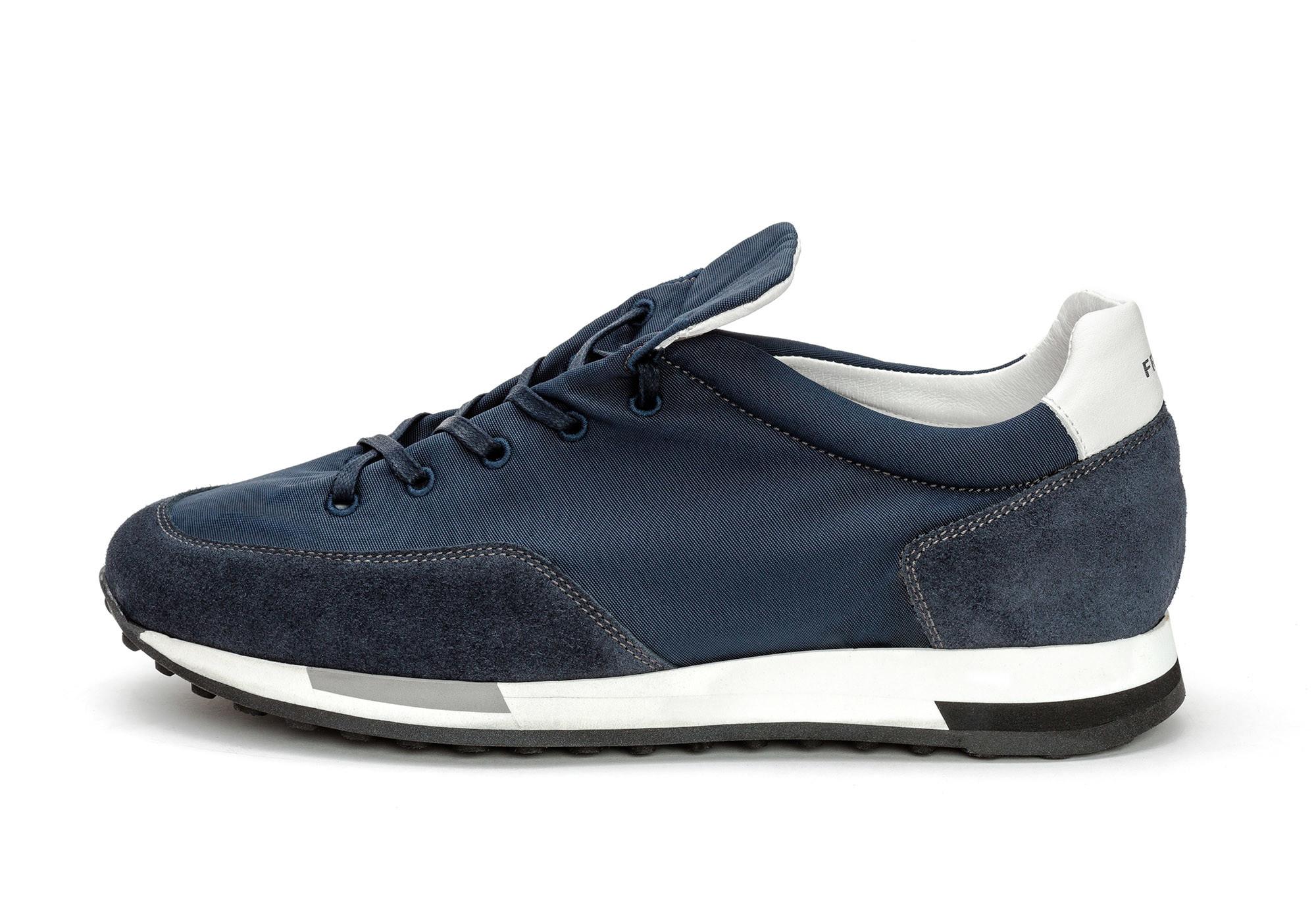 autentico acquista l'originale calzature FRAU 23E1 – SNEAKER UOMO CITY RUNNING IN TESSUTO E CAMOSCIO