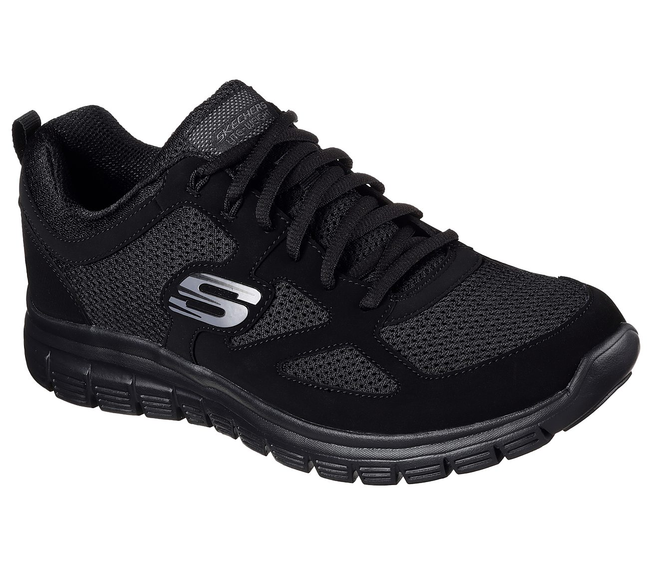 SKECHERS BURNS AGOURA – SCARPA SPORTIVA UOMO IN MEMORY FOAM