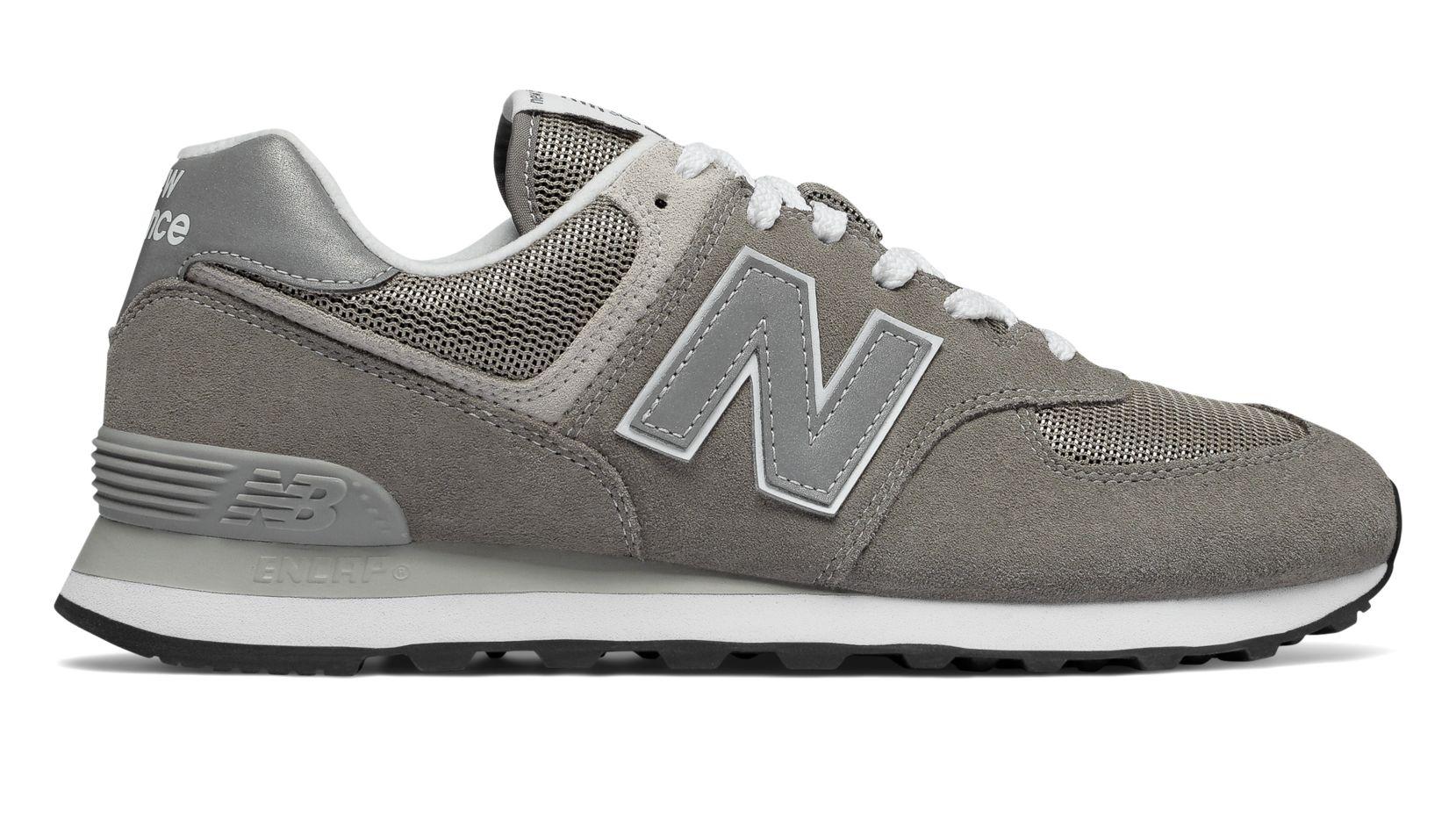 NEW Balance ML 574 Egg Scarpe Essential Tempo Libero Sneaker Sportive Grey ml574egg