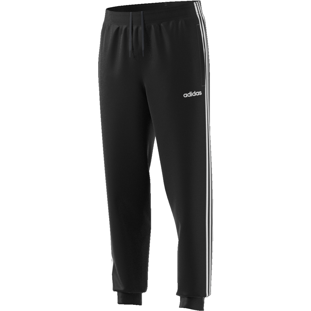 Adidas Tapered Acetato 3 Stripes Pantalone Uomo Tricot Essentials Zar6WFnTZ