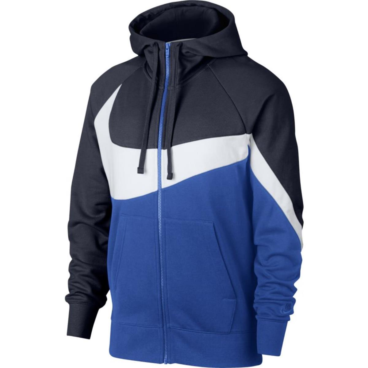 NIKE M NSW HBR HOODIE FULL ZIP FRENCH TERRY STMT FELPA